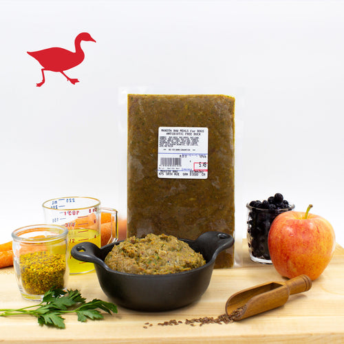 Maxota Raw Dog Food: Hand-Crafted in San Diego - Duck Recipe