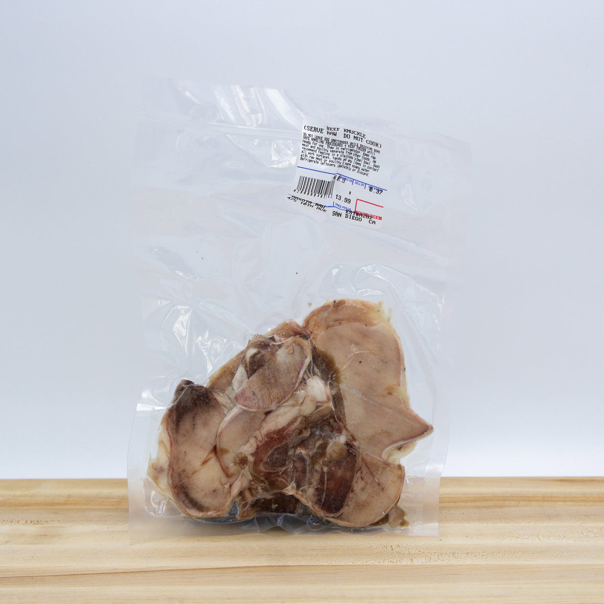 Maxota Raw: Frozen Knuckle Bone Slices Treats for Dogs Hand-Crafted in San Diego, California