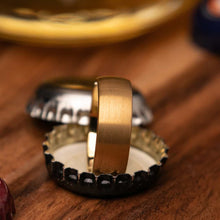 Dumbledore Gold Mens Wedding Ring Can Open Beer Bottles