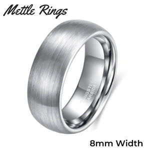 Dumbledore 8mm Tungsten Carbide Mens Wedding Ring