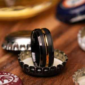 Herky Mens Wedding Ring Can Open Beer Bottles