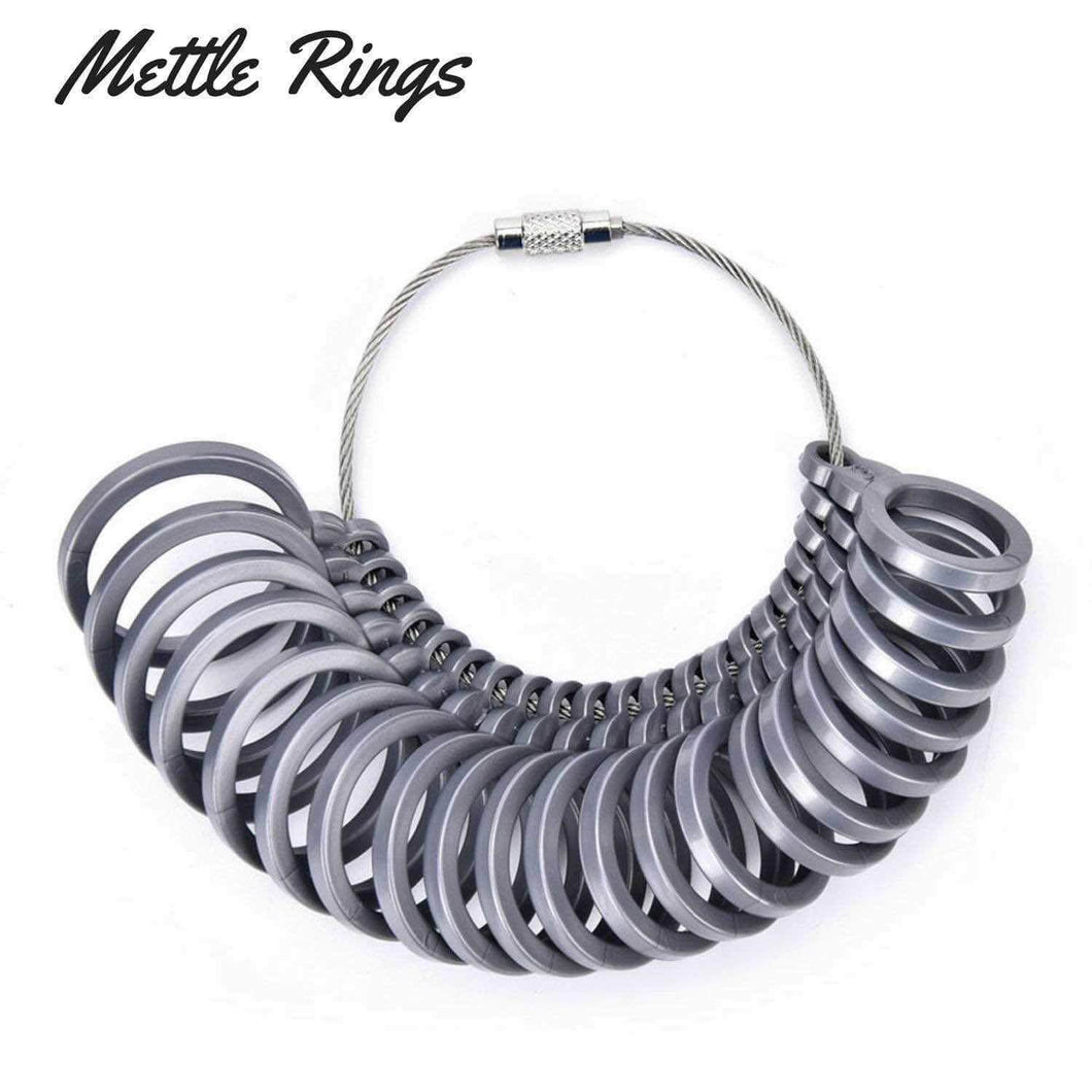 Mettle Rings ring sizing tool