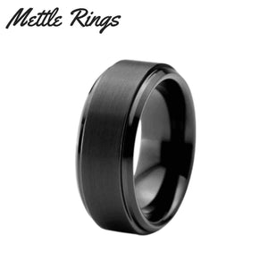 Neo 8mm Tungsten Carbide Mens Wedding Ring