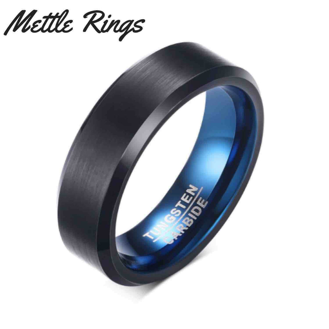 Slater Tungsten Carbide Mens Wedding Ring