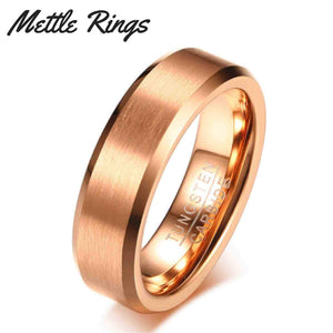 Ventura Tungsten Carbide Mens Wedding Ring
