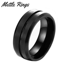 Walker Tungsten Carbide Mens Wedding Ring