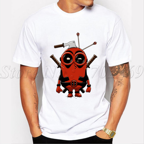 Deadpool Minion Shirt - Seen On The Screen - TV and Movie Clothing