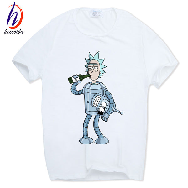 Futurama Rick and Morty T-Shirt - Seen On The Screen - TV and Movie Clothing