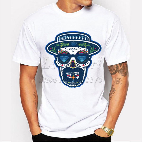 Heisenberg Skull Shirt - Seen On The Screen - TV and Movie Clothing