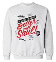 Better Call Saul Sweatshirt - Seen On The Screen - TV and Movie Clothing