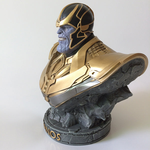 Guardians Of The Galaxy Thanos Bust Statue - Seen On The Screen - TV and Movie Clothing