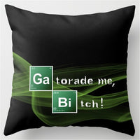 Breaking Bad Polyester Pillowcase - Seen On The Screen - TV and Movie Clothing