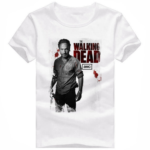 Rick Grimes The Walking Dead T-Shirt - Seen On The Screen - TV and Movie Clothing