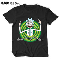 Free Rick Rick and Morty T-Shirt - Seen On The Screen - TV and Movie Clothing