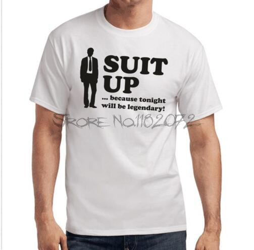 Suit Up T-Shirt - Seen On The Screen - TV and Movie Clothing