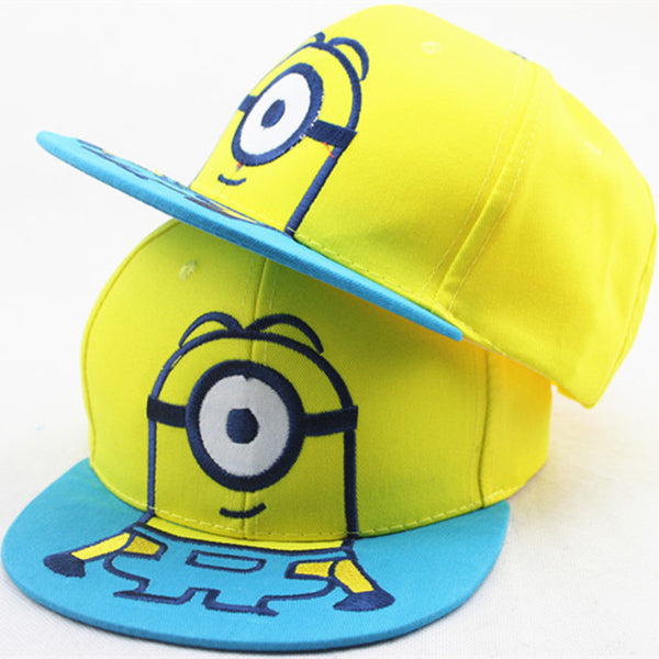 Children's Minion Baseball Hat - Seen On The Screen - TV and Movie Clothing