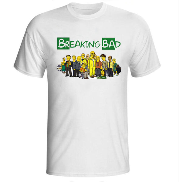 Breaking Bad The Simpons Version - Seen On The Screen - TV and Movie Clothing