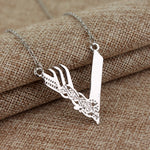 Vikings Logo Necklace - Seen On The Screen - TV and Movie Clothing