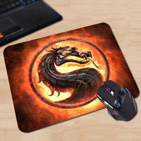 Silicone Mortal Kombat Mouse Pad - Seen On The Screen - TV and Movie Clothing