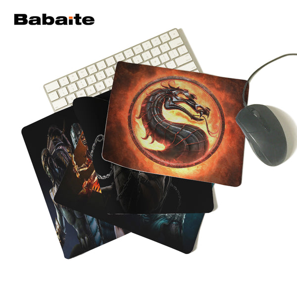 Silicone Mortal Kombat Mouse Pad