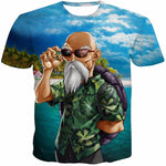 Funny Master Roshi and Others T-Shirts - Seen On The Screen - TV and Movie Clothing