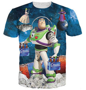 Buzz Lightyear Unisex Funny Toy Story T Shirt