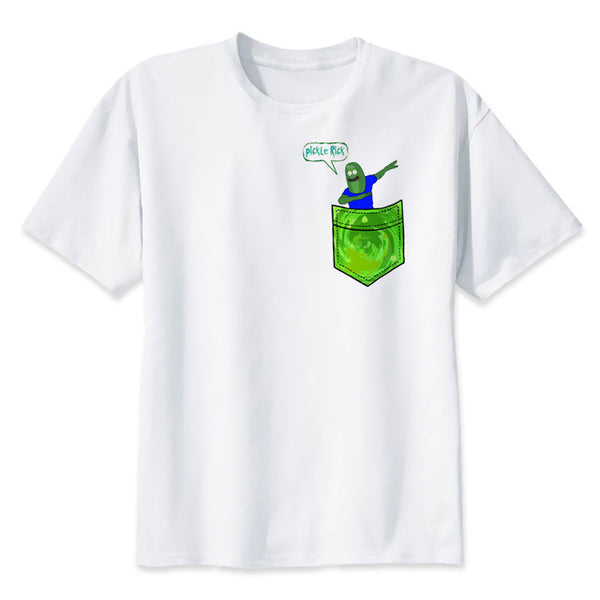 Rick and Morty Dabbing Pickle - Seen On The Screen - TV and Movie Clothing