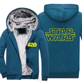 Star Wars Thick Winter Jacket with Fur Lining - Seen On The Screen - TV and Movie Clothing