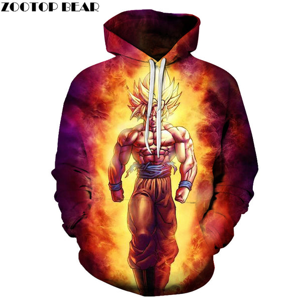 Variety of Anime Dragon Ball Z Hoodies