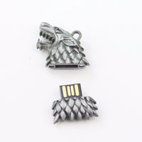 HBO Game of Thrones Stark and Hand of the King Sigil USB Flash Drive 8GB Magnet Set - Seen On The Screen - TV and Movie Clothing