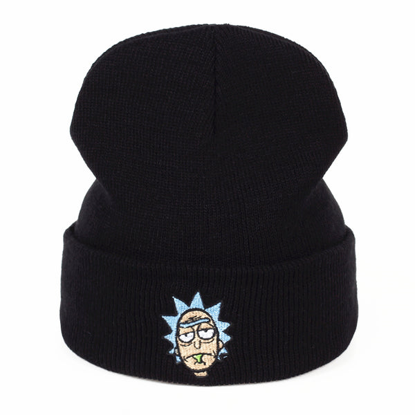 Rick and Morty Beanie Hat - Seen On The Screen - TV and Movie Clothing