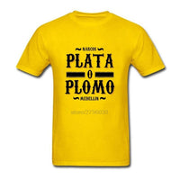 Plata o Plomo Medellin T-Shirt - Seen On The Screen - TV and Movie Clothing