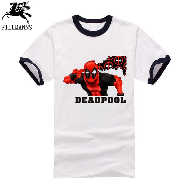 Deadpool Funny cartoon T-Shirt - Seen On The Screen - TV and Movie Clothing