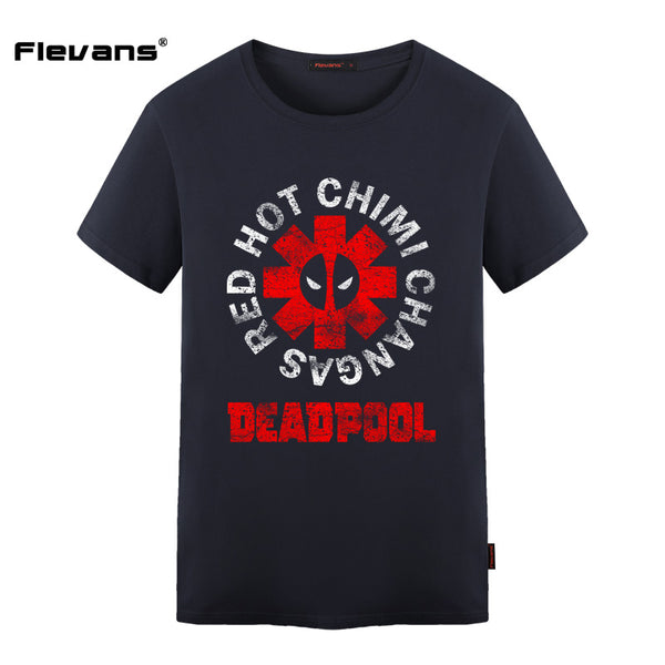 Hot Chimi Changas Deadpool Shirt - Seen On The Screen - TV and Movie Clothing