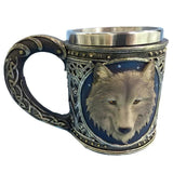 3D Stark Wolf Mug - Seen On The Screen - TV and Movie Clothing