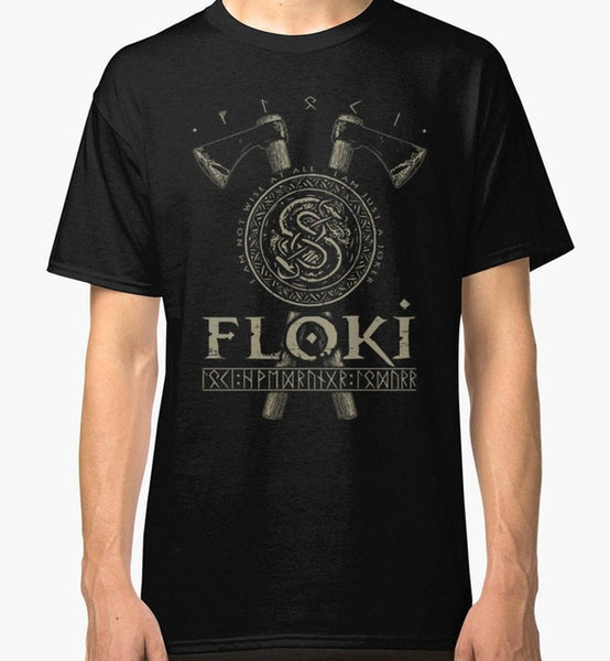 Vikings Floki the Builder T-Shirt Unisex - Seen On The Screen - TV and Movie Clothing