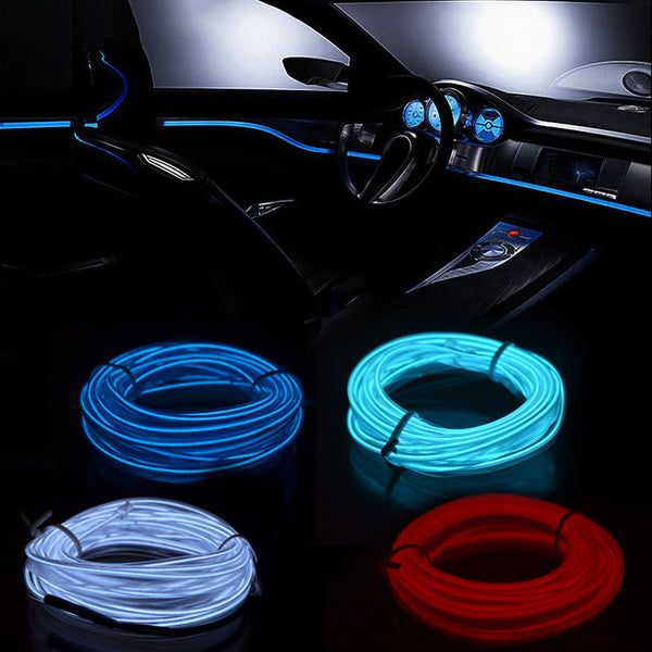 LED Light Wire for Car Interior (3m or 5m) - Seen On The Screen - TV and Movie Clothing