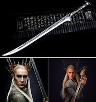 Lord of the Rings King Thranduil's Replica 1:1 Metal Sword - Seen On The Screen - TV and Movie Clothing