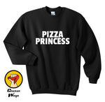 Funny Pizza Princess Sweatshirt - Seen On The Screen - TV and Movie Clothing
