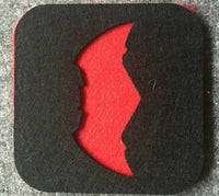 Deadpool and Batman Coaster - Seen On The Screen - TV and Movie Clothing
