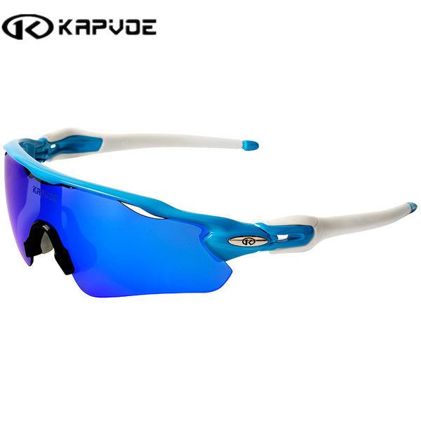 Kapvoe Lightweight Polarized Cycling Sunglasses Bundle - Seen On The Screen - TV and Movie Clothing