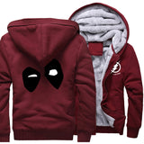 Deadpool Winter Lined Fleece - Seen On The Screen - TV and Movie Clothing