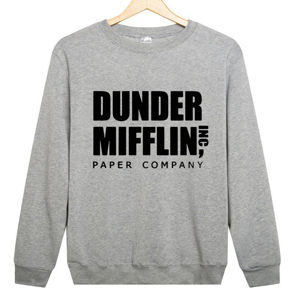 The Office Sweatshirt - Dunder Mifflin - Seen On The Screen - TV and Movie Clothing
