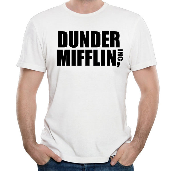 Dunder Mifflin T Shirt - Seen On The Screen - TV and Movie Clothing