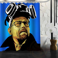 Breaking Bad Shower Curtain - Seen On The Screen - TV and Movie Clothing