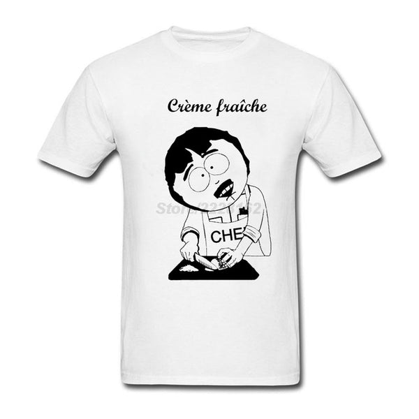 Creme Fraiche South Park T-Shirt - Seen On The Screen - TV and Movie Clothing