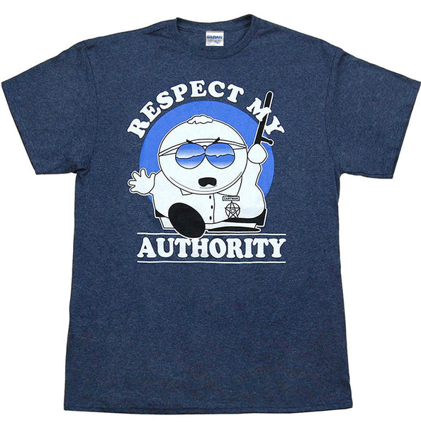 Respect my Authority South Park T-Shirt - Seen On The Screen - TV and Movie Clothing