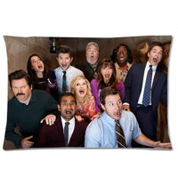 Ron Swanson Eggs and Bacon Pillow Case - Seen On The Screen - TV and Movie Clothing