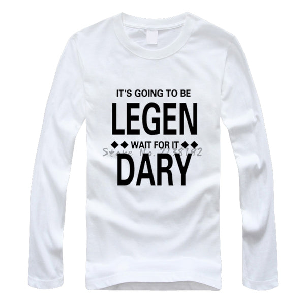 Legendary Long Sleeve T-Shirt - Seen On The Screen - TV and Movie Clothing