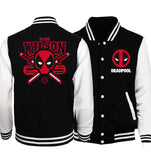 Finding Francis Deadpool Baseball Jersey - Seen On The Screen - TV and Movie Clothing